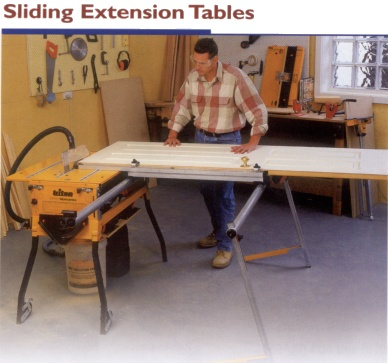 Eta100 Eta200 Dca250 Sliding Extension Table And