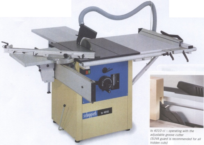 Scheppach Ts 4010 Ci 12 Inch High Speed Precision Sawbench